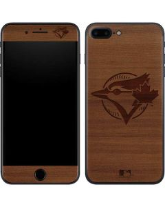 Toronto Blue Jays Engraved iPhone 8 Plus Skin