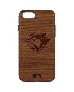 Toronto Blue Jays Engraved iPhone 8 Pro Case