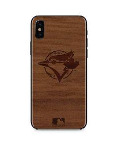 Toronto Blue Jays Engraved iPhone XS Max Skin