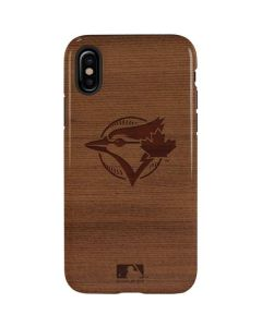 Toronto Blue Jays Engraved iPhone XS Pro Case