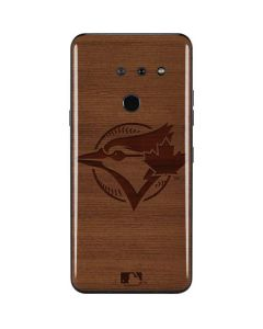Toronto Blue Jays Engraved LG G8 ThinQ Skin