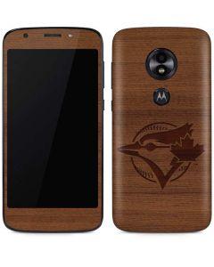Toronto Blue Jays Engraved Moto E5 Play Skin