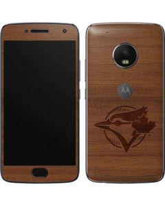 Toronto Blue Jays Engraved Moto G5 Plus Skin