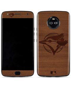 Toronto Blue Jays Engraved Moto X4 Skin