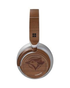 Toronto Blue Jays Engraved Surface Headphones Skin