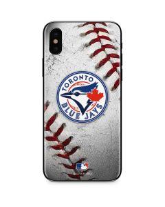 Toronto Blue Jays Game Ball iPhone XS Skin