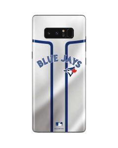 Toronto Blue Jays Home Jersey Galaxy Note 8 Skin