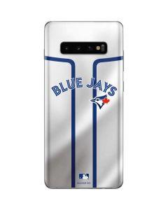 Toronto Blue Jays Home Jersey Galaxy S10 Plus Skin