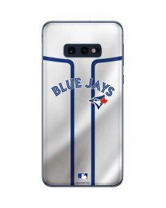 Toronto Blue Jays Home Jersey Galaxy S10e Skin