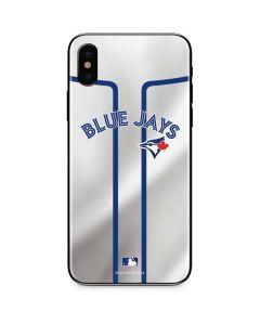Toronto Blue Jays Home Jersey iPhone XS Skin