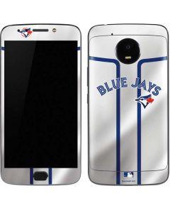 Toronto Blue Jays Home Jersey Moto E4 Plus Skin