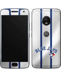 Toronto Blue Jays Home Jersey Moto G5 Plus Skin