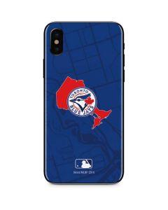 Toronto Blue Jays Home Turf iPhone XS Skin