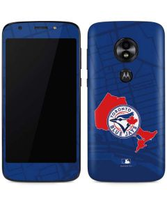 Toronto Blue Jays Home Turf Moto E5 Play Skin