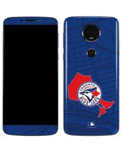 Toronto Blue Jays Home Turf Moto E5 Plus Skin