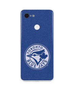 Toronto Blue Jays Monotone Google Pixel 3 Skin