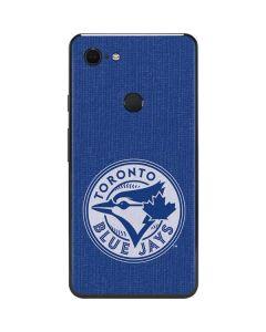 Toronto Blue Jays Monotone Google Pixel 3 XL Skin