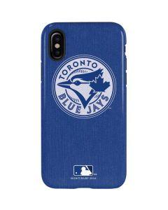 Toronto Blue Jays Monotone iPhone XS Pro Case