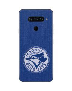 Toronto Blue Jays Monotone LG V40 ThinQ Skin