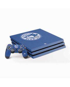 Toronto Blue Jays Monotone PS4 Pro Bundle Skin