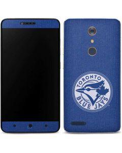 Toronto Blue Jays Monotone ZTE ZMAX Pro Skin