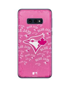 Toronto Blue Jays Pink Cap Logo Blast Galaxy S10e Skin