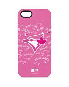 Toronto Blue Jays Pink Cap Logo Blast iPhone 5/5s/SE Pro Case