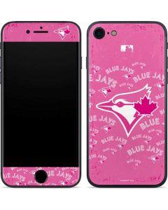 Toronto Blue Jays Pink Cap Logo Blast iPhone 7 Skin
