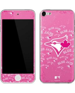 Toronto Blue Jays Pink Cap Logo Blast Apple iPod Skin