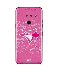 Toronto Blue Jays Pink Cap Logo Blast LG G8 ThinQ Skin