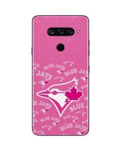Toronto Blue Jays Pink Cap Logo Blast LG V40 ThinQ Skin
