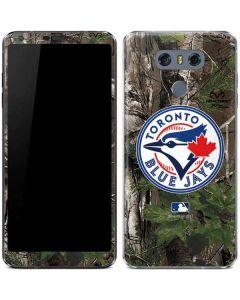 Toronto Blue Jays Realtree Xtra Green Camo LG G6 Skin