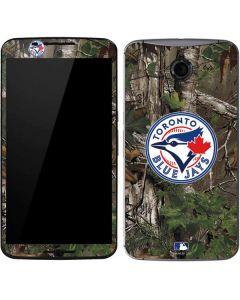 Toronto Blue Jays Realtree Xtra Green Camo Google Nexus 6 Skin