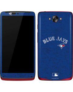 Toronto Blue Jays Solid Distressed Motorola Droid Skin