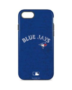 Toronto Blue Jays Solid Distressed iPhone 8 Pro Case