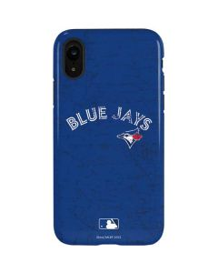 Toronto Blue Jays Solid Distressed iPhone XR Pro Case