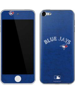 Toronto Blue Jays Solid Distressed Apple iPod Skin