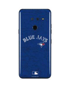 Toronto Blue Jays Solid Distressed LG G8 ThinQ Skin