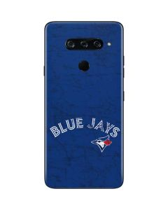 Toronto Blue Jays Solid Distressed LG V40 ThinQ Skin
