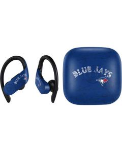 Toronto Blue Jays Solid Distressed PowerBeats Pro Skin
