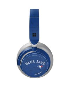 Toronto Blue Jays Solid Distressed Surface Headphones Skin