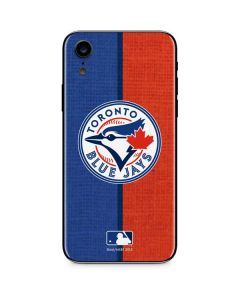 Toronto Blue Jays Split iPhone XR Skin