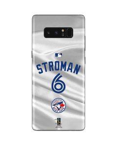 Toronto Blue Jays Stroman #6 Galaxy Note 8 Skin