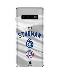 Toronto Blue Jays Stroman #6 Galaxy S10 Plus Skin
