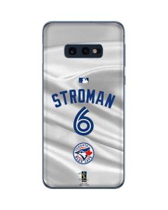 Toronto Blue Jays Stroman #6 Galaxy S10e Skin