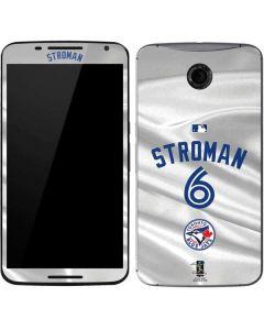 Toronto Blue Jays Stroman #6 Google Nexus 6 Skin