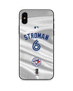 Toronto Blue Jays Stroman #6 iPhone XS Skin