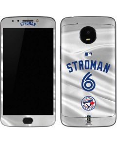 Toronto Blue Jays Stroman #6 Moto E4 Plus Skin