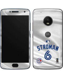 Toronto Blue Jays Stroman #6 Moto G5 Plus Skin