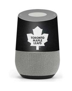 Toronto Maple Leafs Black Background Google Home Skin